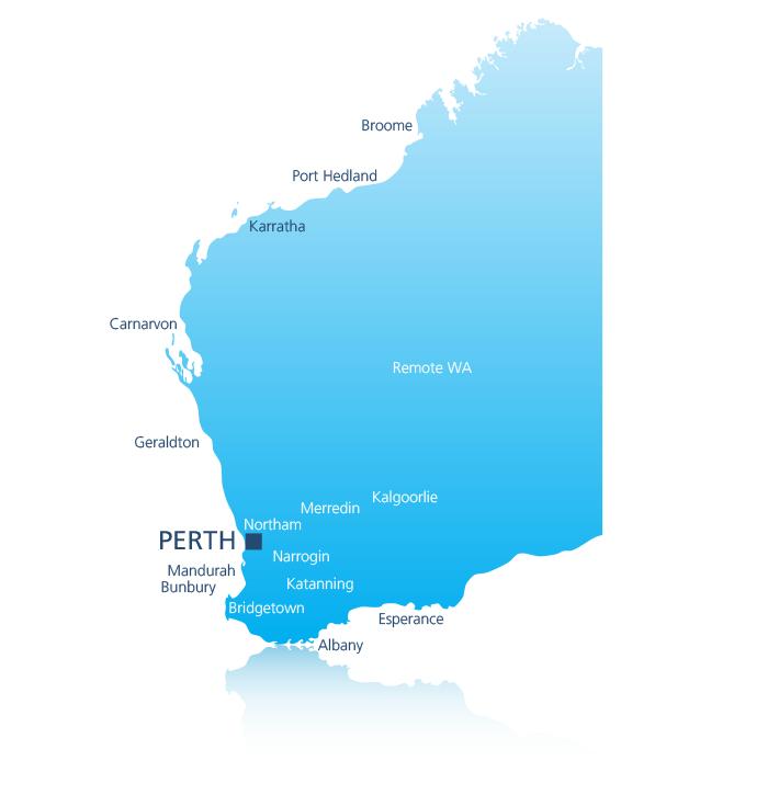 Australia Map Karratha.Commercial Radio Australia Find A Station